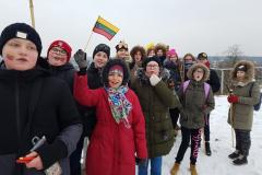 """Akcija """"Jaunimo sveikinimas Lietuvos šimtmečiui"""""""