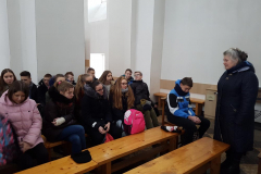Edukacinė pamoka Švč. Trejybės bažnyčioje